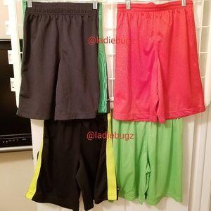 New Balance 4 Pair Size M 10 12 Basketball Shorts